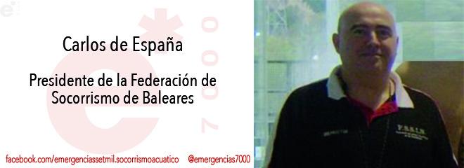 Presidente Federación Salvamento y Socorrismo Baleares