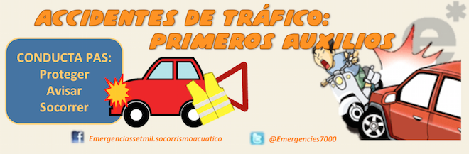 Accidentes de tráfico. Primeros auxilios