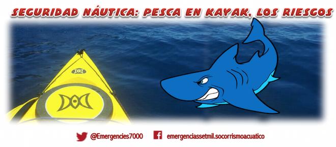Seguridad Naútica: pesca en kayak… los riesgos
