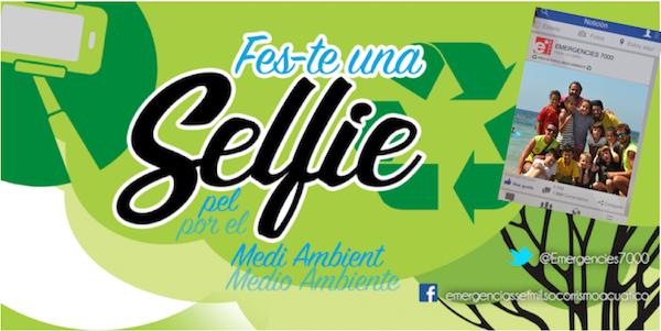 Selfie por el medio ambiente